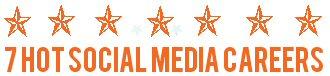 Seven Hot social media careers logo